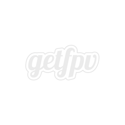RaceKraft 5x4.5 Clear Blunt Nose Tri-Blade (Set of 4 - Yellow)