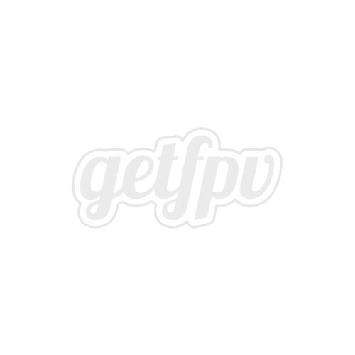 RaceKraft 5x4.5 Clear Blunt Nose Tri-Blade (Set of 4 - Orange)