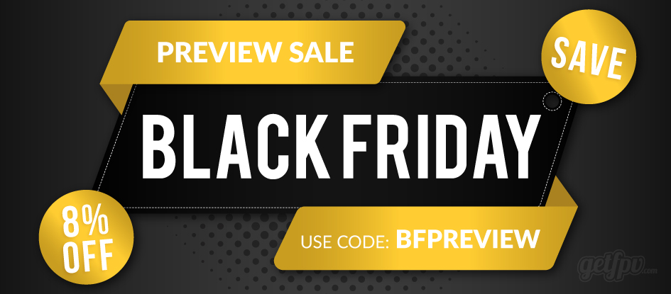 2019 Black Friday Oreview Sale