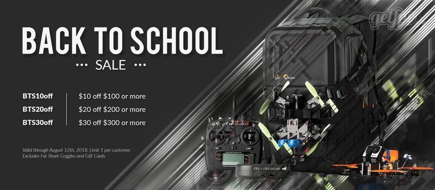 Back to School Drone Sale