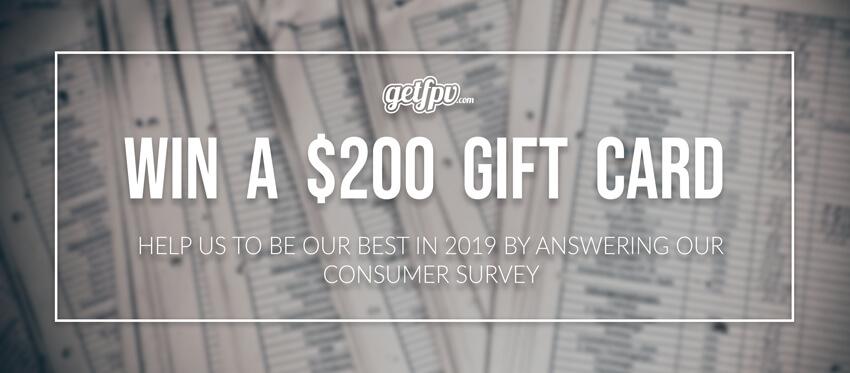 2018 / 2019 GetFPV Consumer Survey