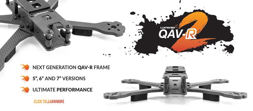 Lumenier Drone QAV-R 2 Quadcopter Frame