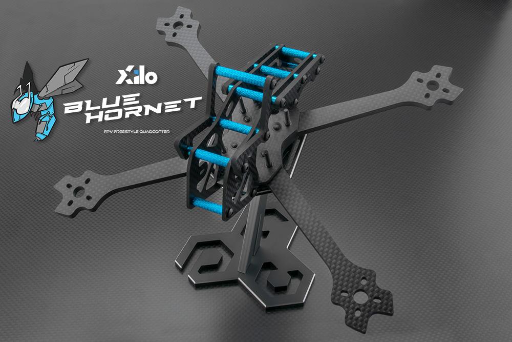 XILO Blue Hornet Quadcopter Freestyle frame