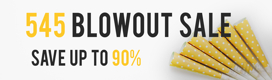 545 Blowout Sales