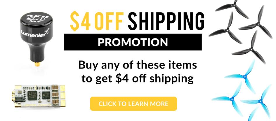 Free Economy Shipping Promotion