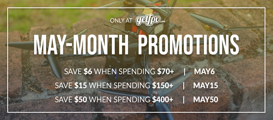 May FPV Drone Racing Promotion