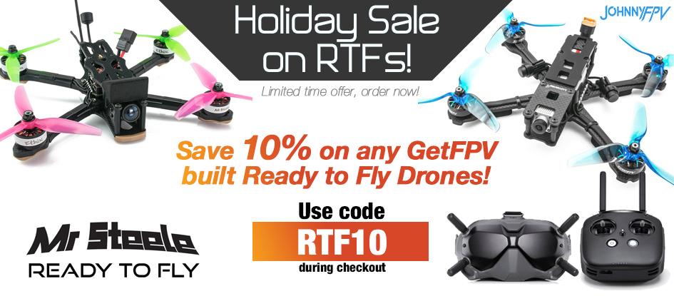 RTF 10% OFF Sale