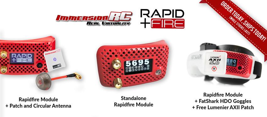 ImmersionRC rapidFIRE FPV