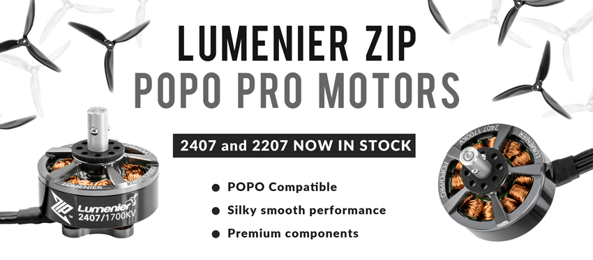 Lumenier ZIP series drone motors