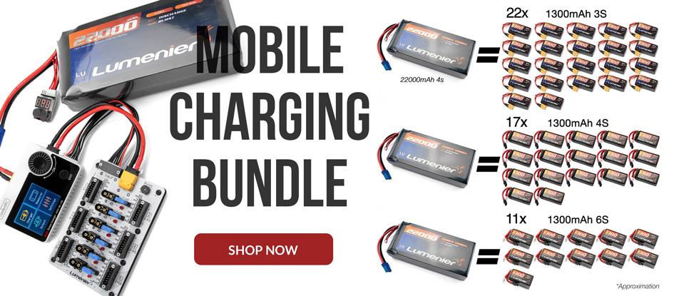 Ultimate Mobile Battery Charging Bundle
