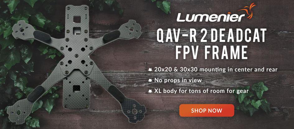 Lumenier QAV-R 2 Deadcat Frame