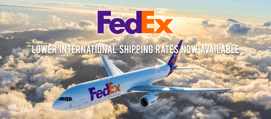 Better FedEx International Rates for Shipping