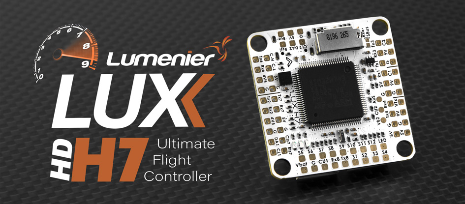 New Lumenier H7 Flight Controller