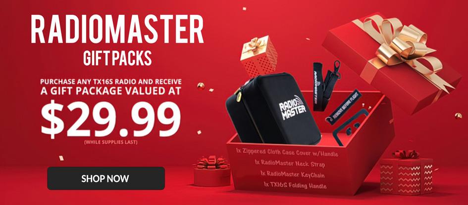 RadioMaster Free Gift Bag Promotion