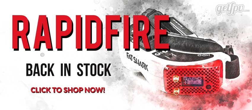 RapidFire Back In Stock