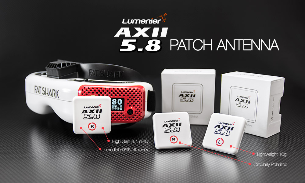 Lumenier AXII Patch Antenna 5.8GHz