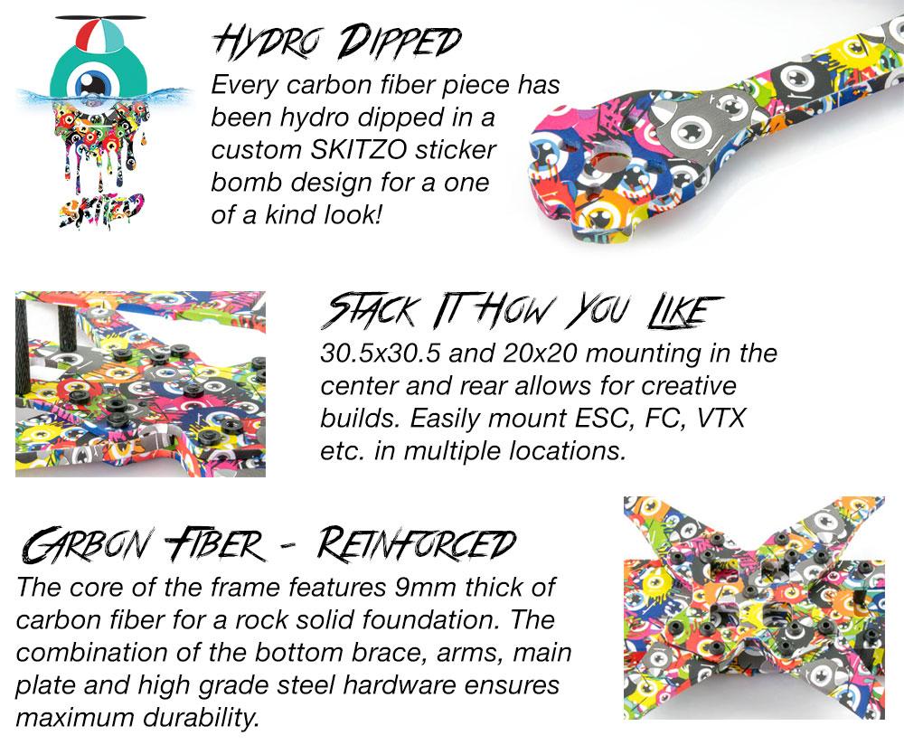QAV-R 2 Skitzo Hydro Dip