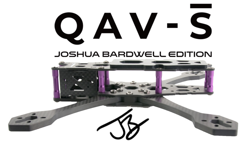 Joshua-Bardwell-QAV-S-5-Freestyle-Quadcopter-Frame-Side