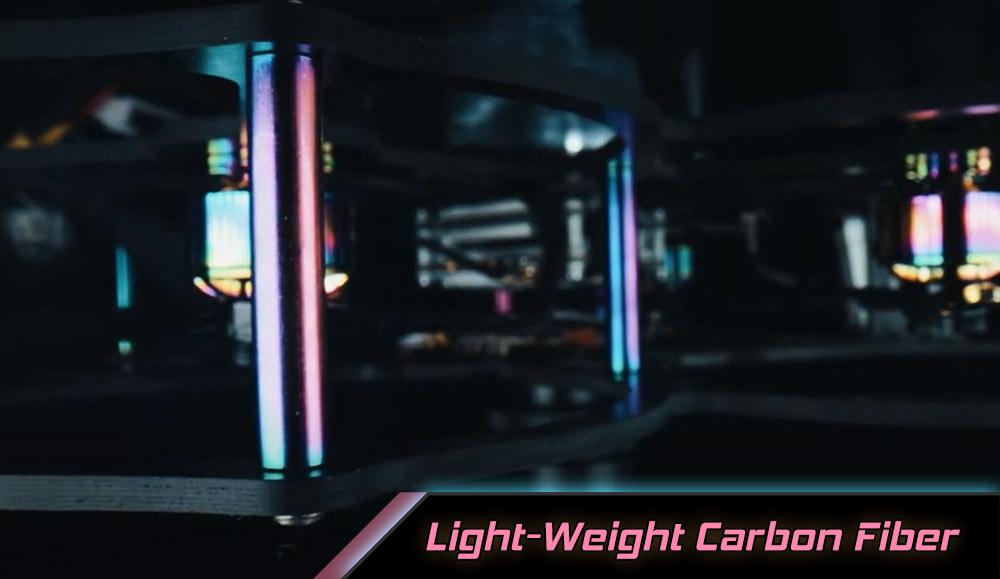 QAV-CINE Freybott - Fibre de carbone légère