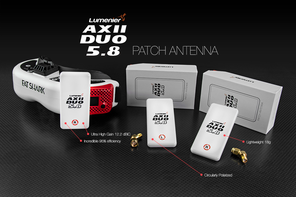 Lumenier AXII DUO Patch Antenna 5.8GHz