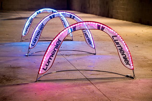 Lumenier Mini RGB LED Pop Up Race Gate