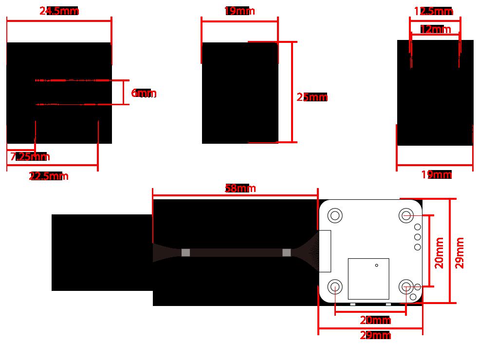 RunCam Hybrid Dual 4K HD & FPV Camera Specs
