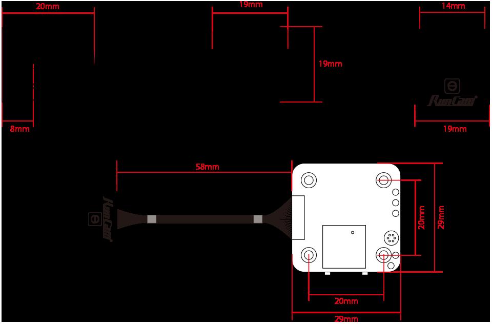 RunCam Split 3 Micro HD Recording FPV Camera Specs 3